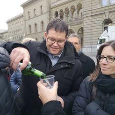 #BRW2018 Fandelegation - Feiern auf dem Bundesplatz