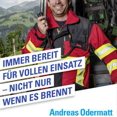FDP Kampagne Andreas Odermatt Dallenwil