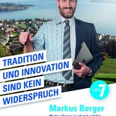FDP Kampagne Markus Berger Hergiswil