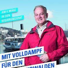 FDP Kampagne Joe Christen Stans